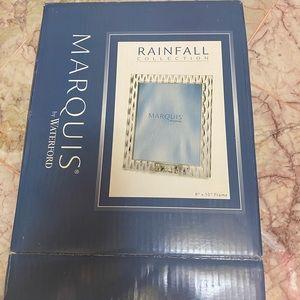 Marquis by Waterford frame NIB rainfall